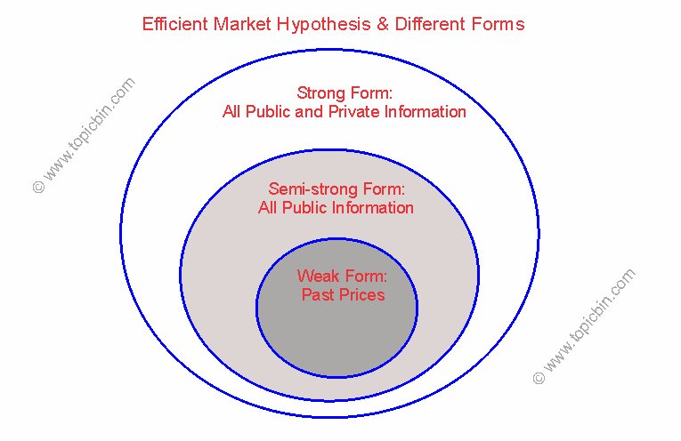 Efficient Market Hypothesis & Different Forms